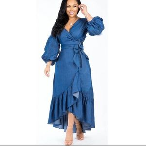 New Buckle Cowgirl Jean Dress Size: Medium